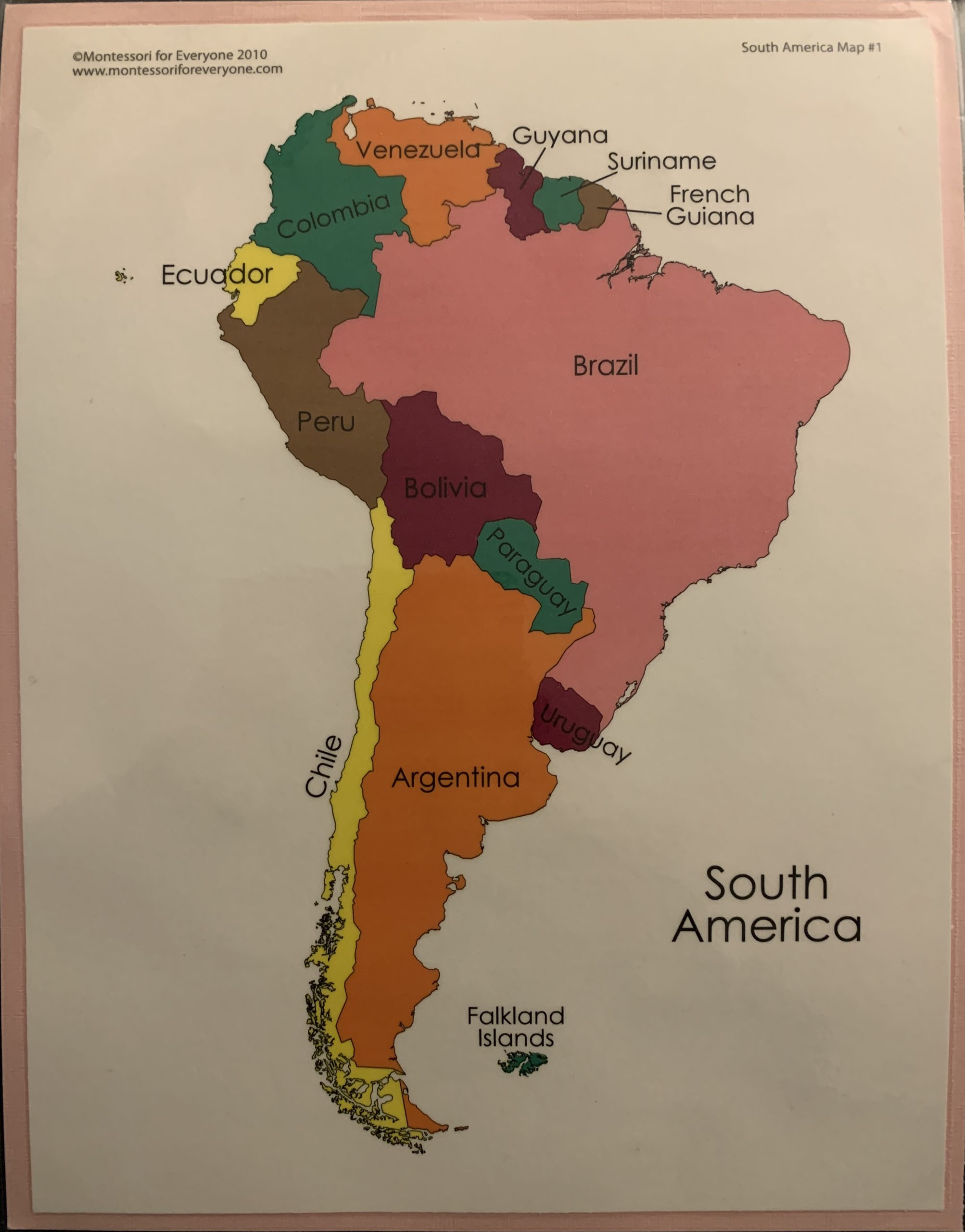 The South America Song
