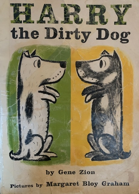 "Photo of cover of ""Harry the Dirty Dog"""