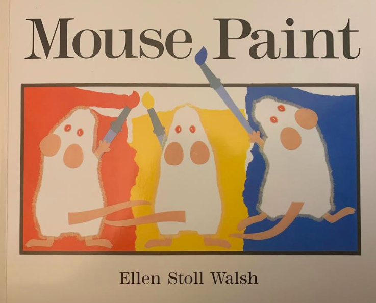 "Photo of cover of ""Mouse Paint"""
