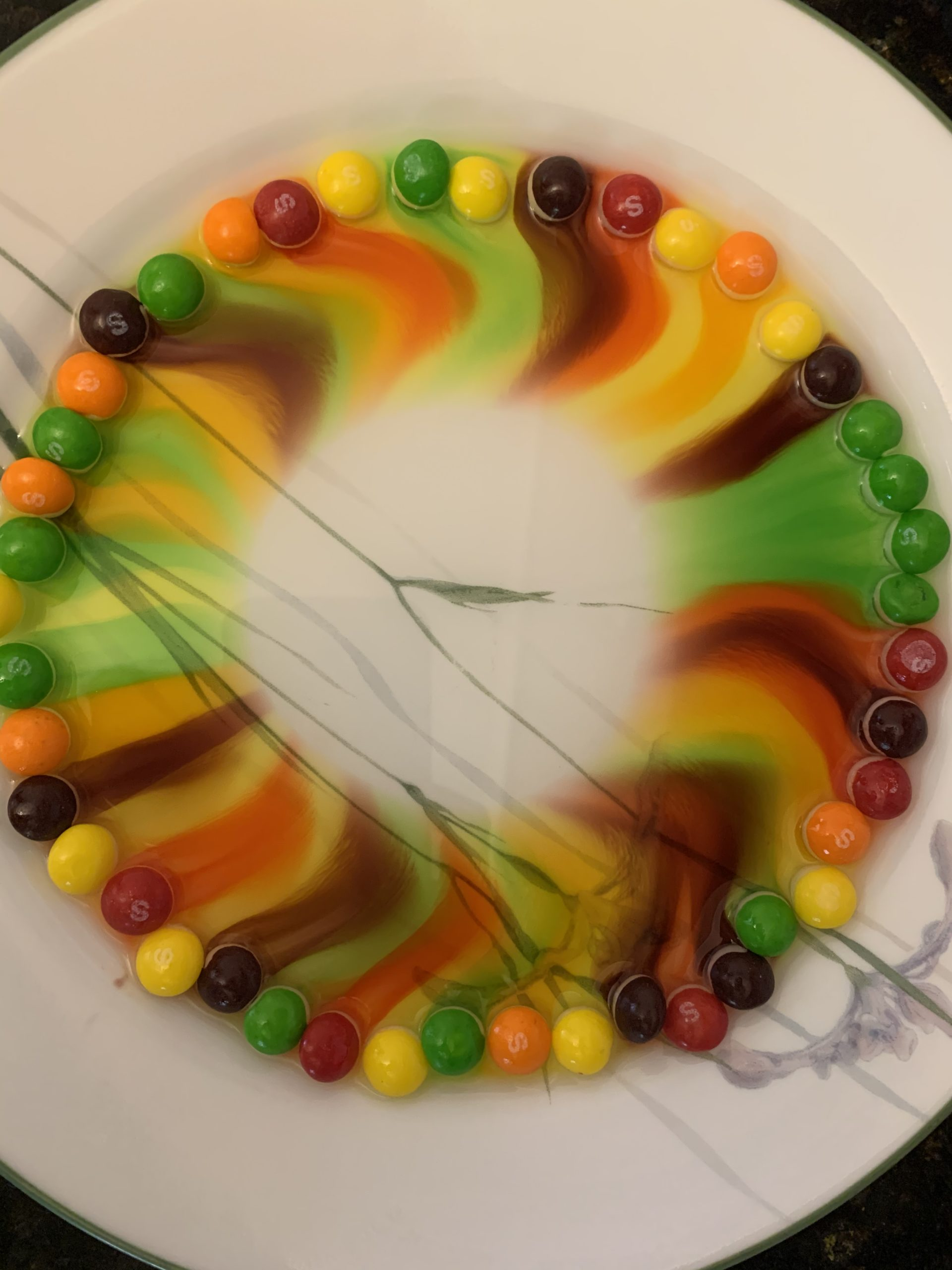 Rainbow with Candies